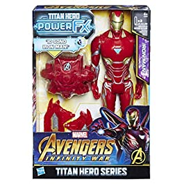 Avengers: Infinity War – Iron Man Titan Hero Power FX (Personaggio 30cm, Action Figure) , E0606103