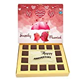 BOGATCHI ANNIVERSARY GIFT FOR WIFE,LOVE BIRDS, WHITE CHOCOLATES, LOVE CHOCOLATES, PREMIUM CHOCOLATES, 260 g