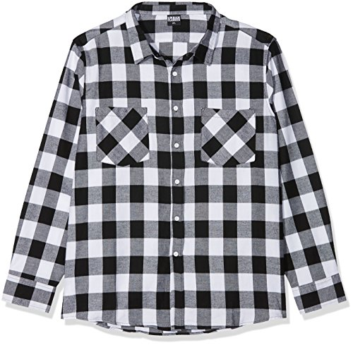 Urban Classics Checked Flanell Shirt Camisa