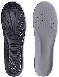 Semelles de chaussures, semelles intérieures en mousse à mémoire de forme Kalak offrant une excellente absorption des chocs et un excellent amorti pour soulager les pieds