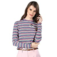 ICONIC Pullover Tops For Women M, Multi Color