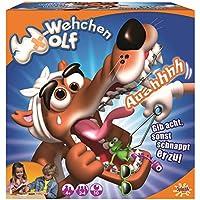 Splash Toys 30182 - Geschicklichkeitsspiel W - Wehchen Wolf, Kinderspiel mit großem Wolfsmaul, der Geräusche macht, ideal für 2 - 4 Kinder ab 5 Jahre, die gerne Tierarzt spielen