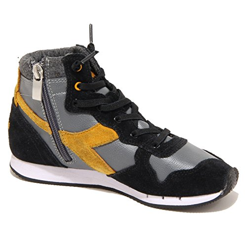 7685N sneaker DIADORA HERITAGE nero grigio scarpe bimbo shoes men Nero/Grigio