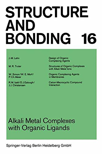 Alkali Metal Complexes with Organic Ligands (Structure and Bonding)