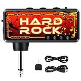 Donner Kopfhörerverstärker Gitarre Hard Rock FX Delay wiederaufladbar Mini Kopfhörer Verstärker Gitarre AMP