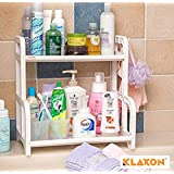 Klaxon 2 Tier Multi Functional Kitchen Rack - White