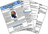 Neurologie - Medizinische Taschen-Karte