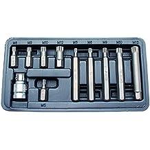 Kraftmann 5030 - Xzn conjunto de bits destornillador, 11 piezas