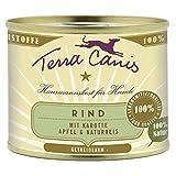 Terra Canis | Rind mit Karotte, Apfel und Naturreis |12 x 200 g