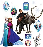 alles-meine.de GmbH 13 TLG. Set _ Wandtattoo / Sticker _  Disney die Eiskönigin - Frozen  - Wandsticker - Aufkleber für Kinderzimmer - selbstklebend + wiederverwendbar - völlig..