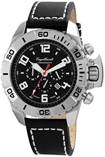 Engelhardt Men's Watch with Genuine Leather Strap