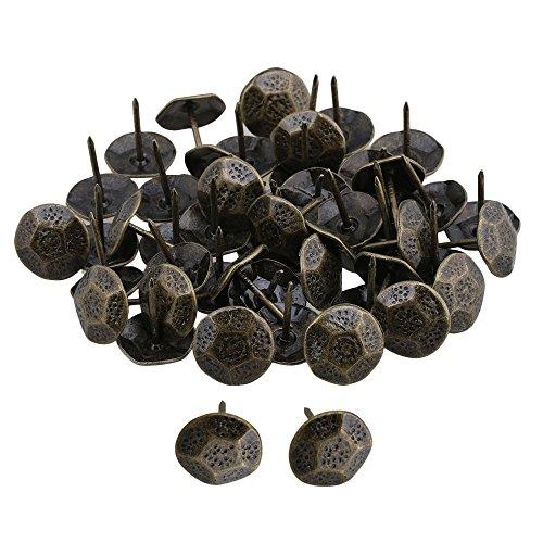Yibuy 5023x 20Möbel Dekorative Bronze Nägel Polsternägel Nägel Nieten Pins