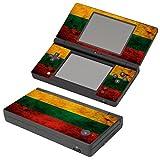 Flagge Litauen 2, Ländern, Design folie Sticker Skin Aufkleber Schutzfolie mit Farbenfrohe Design für Nintendo DSi Designfolie
