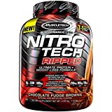 MuscleTech Nitrotech Ripped – 4 lbs, 1.81 kg (Chocolate Fudge Brownie)
