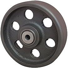 RWM ruedas de hierro fundido rueda con rodamiento de bolas 500 kg capacidad