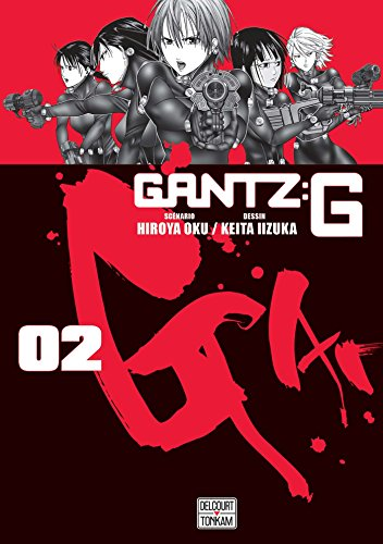 Gantz G 02 par Hiroya Oku