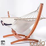 Best Hammock With Stands - Tortola Wooden Hammock Stand With White Hammock Review