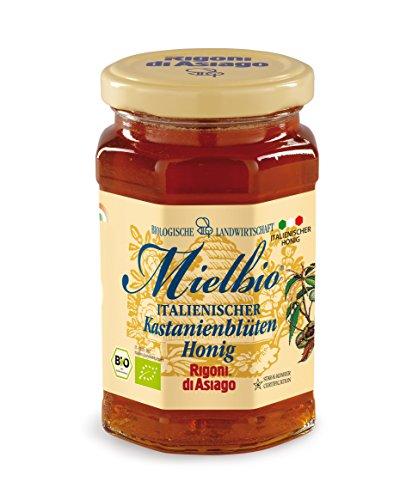 MielBio Kastanienblüten Honig aus Sizilien, 300 g, Bio