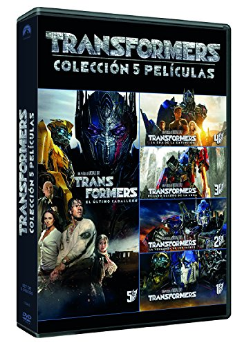 Pack: Transformers 1-5 [DVD]