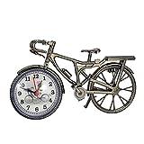 TianranRT Jahrgang Arabisch Ziffer Retro Fahrrad Muster Kreativ Alarm Uhr Zuhause Dekor