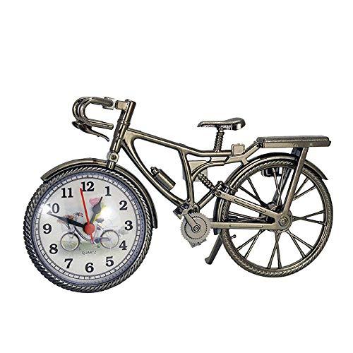 Gaddrt Wecker Vintage arabische Ziffer Retro Fahrrad Muster -