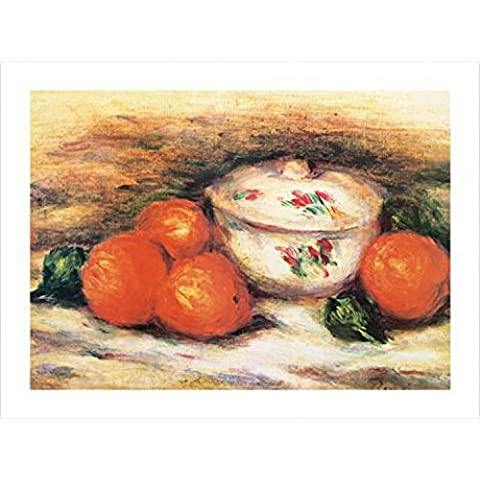 Pierre Auguste Renoir - Still Life with a Covered Dish Stampa D'Arte (80 x 60cm)