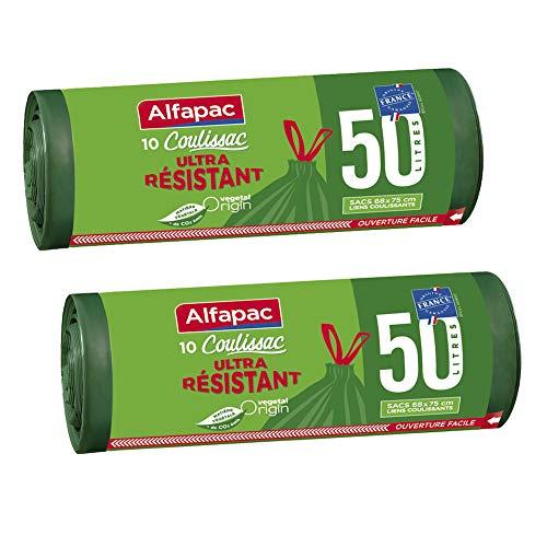 Alfapac - Bolsas basura asas origen vegetal asas correderas