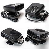Finlon 12V de voiture de refroidissement Portable chauffant en céramique Chauffage ventilateur Dégivreur prise