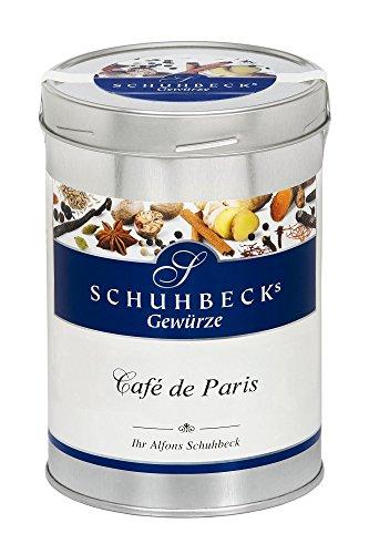 Schuhbecks Gewürze Café de Paris französische Gewürzmischung, für Fisch, Fleisch, Geflügel, Nudeln, Quark & Dips, Gewürz zum Braten & Verfeinern, Menge: 1 x 500 g