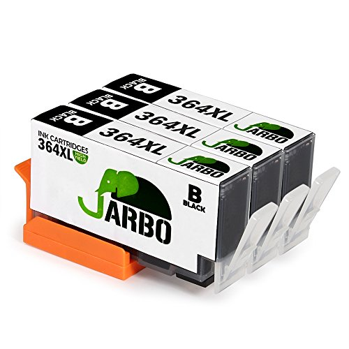 JARBO 3 Schwarz Kompatibel HP 364XL Druckerpatronen Hohe Kapazität mit Chip kompatibel zu HP...