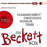 Die weiße Beckett Box: Inhalt: Flammenbrut, Obsession, Voyeur, Tiere (MP3-Ausgabe, Band 26)