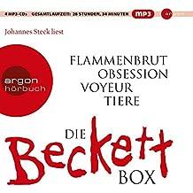 Die weiße Beckett Box: Inhalt: Flammenbrut, Obsession, Voyeur, Tiere