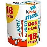 Kinder Maxi T18 Pack De 18 Barres - ( Prix Par Unité ) - Envoi Rapide Et Soignée