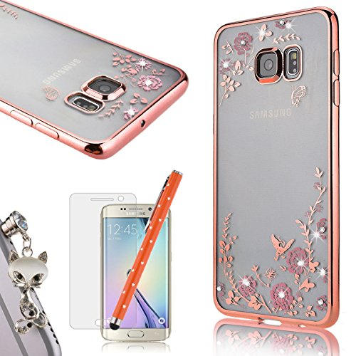 we-love-case-for-samsung-s6-edge-plus-clear-case-secret-garden-soft-tpu-cover-with-plating-bumper-bl