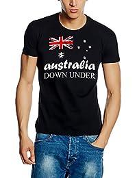 Australia Vintage NEU Down Under Kapuzensweater Australien Blau Schwarz Navy S M L XL XXL 3XL 4XL 5XL