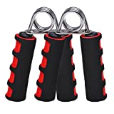 #6: Bulfyss Hand Grip Strengthener, Finger Gripper, Hand Grippers, Quickly Increase Hand Wrist Finger Forearm Strength, Perfect for Musicians Athletes and Hand Rehabilitation Exercising