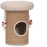 MUJING Pet Cat Climbing Frame Gato Suministros Sisal Column Cat Toy Sisal Barrel
