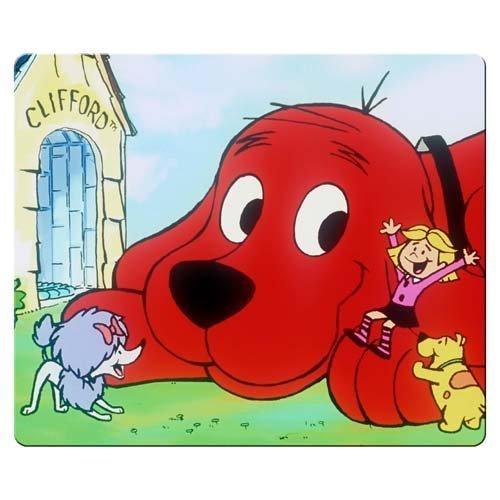 Mouse Pads/Mats 30x25cm 12x10inch gaming mousepads accurate cloth amp; natural rubber waterproof Soft Clifford the Big Red Dog