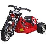 6V Twin Motor Chopper Bike Black/Red