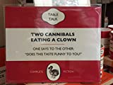 TWO CANNIBALS EATING A CLOWN TABLE MAT- BRAND NEW IN CELLO