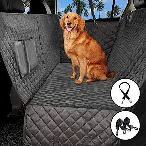 ADOV Hundedecke Auto, Autoschondecke für Rückbank Seitenschutz, Hunde Sitzauflage Wasserdicht waschbar Weiche Rutschfeste Schutzdecke Schutz Decke Ideal für Autos SUV LKW (Hund Hängematte Für Rückbank Lkw)