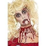 Halloween Schminke Zombie Makeup Set mit Blutkapsel blutige Zombieschminke Monster Make Up Horror Schminke Karneval Schminkset Accessoires Halloweenkostüme Zubehör