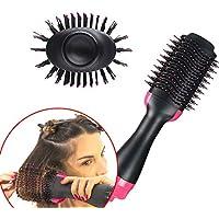 Cepillo alisador 3 en 1 multifuncional para secador de pelo, para todo tipo de cabello