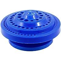 SODIAL(R) Caja de almacenamiento en forma redonda de plastico duro para broca perforacion - azul