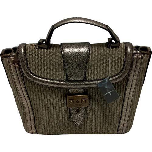 LANCEL sac à main textile et cuir Joséphine small satchel