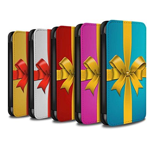 Stuff4 Coque/Etui/Housse Cuir PU Case/Cover pour Apple iPhone 5C / Pack 5pcs Design / Cadeau de Noël Collection Pack 5pcs