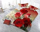 Nome: Set quattro pezzi  Tessuto per letto: Fibra di poliestere  Processo di stampa e tintura: stampa e tintura attiva  Numero di pezzi: 4 pezzi  Dimensioni: trapunta 200 * 230 fogli 230 * 230 cm