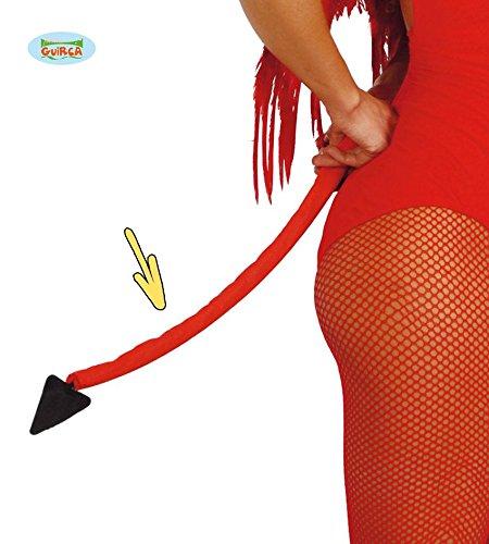 Teufelsschwanz rot Teufel Schwanz Kostüm Devil 50 cm
