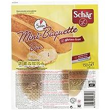 Dr. Schar Mini Baguette Pan - Paquete de 2 x 75 g - Total: