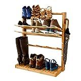 SoBuy Design Schuhregal, Schuhdisplay, High Heel Regal, Hänge-oder Standregal mit Fach FSR20-N